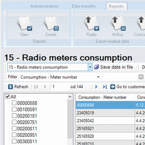 M-Centar - Meter Reading (AMR) Software